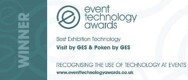 Cropped Best Exhibition Tech - Visit by GES & Poken by GES